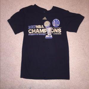 official photos b6094 a924e Golden state Warriors championship shirt